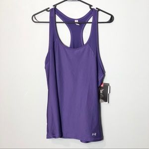 NWT Under Armour fitted heat gear tank top size XL
